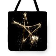 Sparkling Star Tote Bag