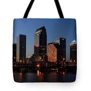 Sparkling Tampa Bay Tote Bag