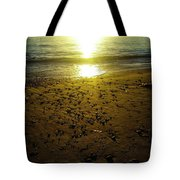 Sparkly Beach Sunset   Tote Bag