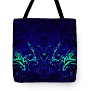 Sparkly Blues In. A Tote Bag