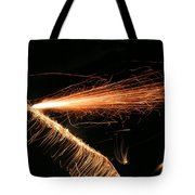 Sparks Will Fly Tote Bag by Kristin Elmquist