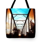 Sparksville Bridge Tote Bag