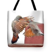 Sparring Flickers Tote Bag