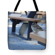 Sparrow 2 Tote Bag