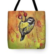 Sparrow - Bird Tote Bag