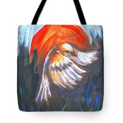 Sparrow In Flight Two Tote Bag