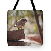 Sparrow. Tote Bag
