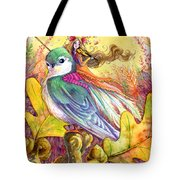 Sparrow's Song Tote Bag