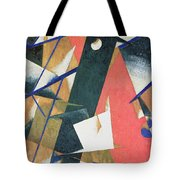 Spatial Force Construction Tote Bag