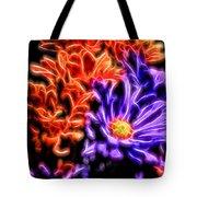 Spatial Glow Tote Bag