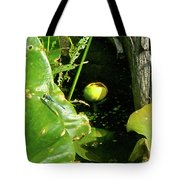 Spatterdock - Wild Yellow Water Lily Tote Bag
