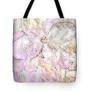 Speak Softly Pink Tote Bag
