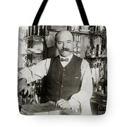 Speakeasy Bartender Tote Bag by Jon Neidert