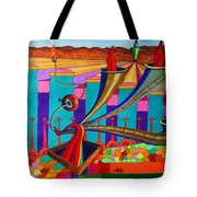 Speaking In Tongues Tote Bag