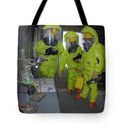 Specialists Survey A Simulated Area Tote Bag