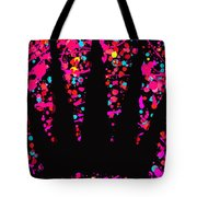 Speck Of Time Pink Tote Bag
