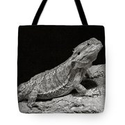 Speckled Iguana Lizard Tote Bag