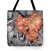 Speckled Leaf Tote Bag