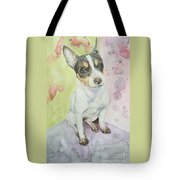 Speckled Nose Muddy Toes Tote Bag