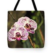 Speckled Orchids Tote Bag