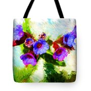 Speckled Trout The Flower Tote Bag