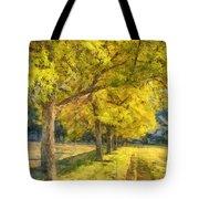 Spectacular  Fall Foliage Pencil  Tote Bag
