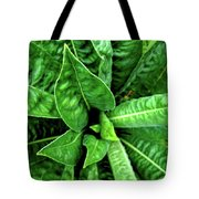 Spectacular Green Foliage Tote Bag