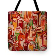 Spectators. Confident. Tote Bag