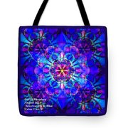 Spectracalia In Blue Catus 1 No. 2 H A Tote Bag