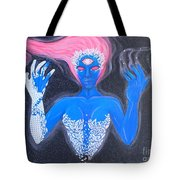 Spectral Space Tote Bag