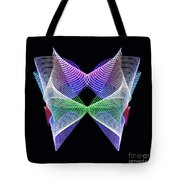 Spectrum Butterfly Tote Bag
