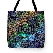 Spectrum Grid Tote Bag