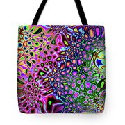 Spectrum Of Abstract Shapes Tote Bag