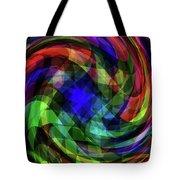 Spectrum Swirls Tote Bag