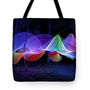 Spectrum Trees Tote Bag
