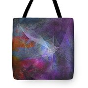 Spectrum Twist Tote Bag