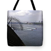 Speed Boats On The East River Tote Bag