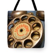 Speed Phone Tote Bag