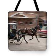 Speeding 3271 Tote Bag by Guy Whiteley