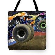 Speeding Tires Tote Bag