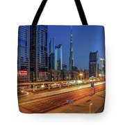 Speedy Road Tote Bag