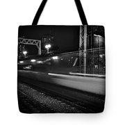 Speedy Train At Kings Cross Tote Bag