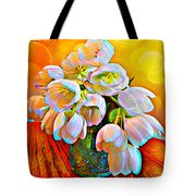 Spektrel Flowers Tote Bag