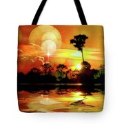 Spektrel Reflected 2 Tote Bag
