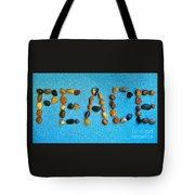 Spelling Peace Tote Bag