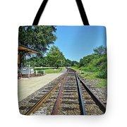 Spencer Railroad Station 2 Tote Bag