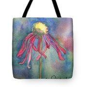 Spent Flower Tote Bag