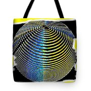 Sphere In Yellow Tote Bag