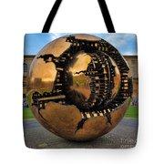 Sphere Within Sphere Tote Bag