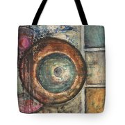 Spheres Abstract Tote Bag